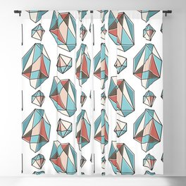 Diamonds are forever Pattern 3 Blackout Curtain