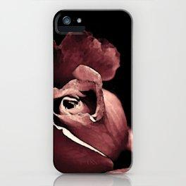 Rose bouton qui s'ouvre colors fashion Jacob's Paris iPhone Case