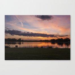 Ada Hayden Reflections Canvas Print