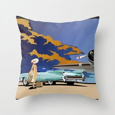 Cadillac Eldorado Biarritz 1959 Throw Pillow