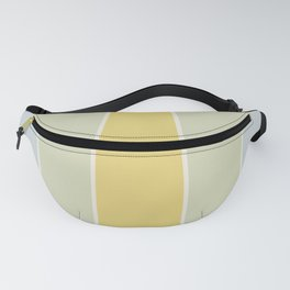 Soft Vintage Color Block Fanny Pack