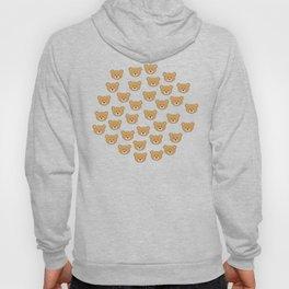 teddy bear pattern Hoody