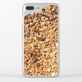 Sand Texture Clear iPhone Case