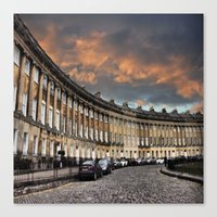 bath Canvas Prints featuring Bath by  Alexia Miles photography