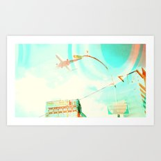 Sunwash Art Print