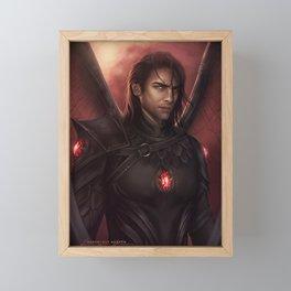 Commander Framed Mini Art Print