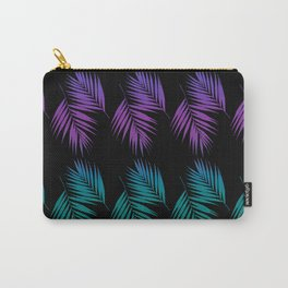 Palm Leaves Pattern #19 #Funky #decor #art #society6 Carry-All Pouch