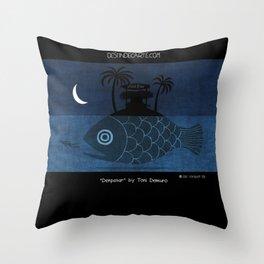 """Denpasar"" Illustration Toni Demuro Throw Pillow"