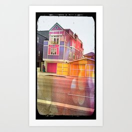 Barbie House Art Print