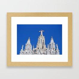 Tibidabo Church. Barcelona, Spain. Catalonia. Framed Art Print