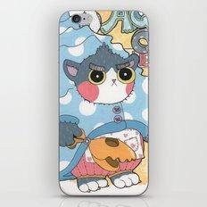 Aqua cat_Puno iPhone & iPod Skin