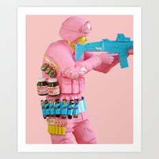 Deliciously Supplied Art Print