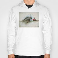 jaws Hoodies featuring Jaws 01 by erintquinn