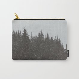 Wintery Forest Carry-All Pouch