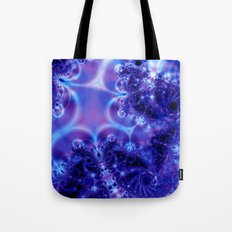 Space Frost Tote Bag