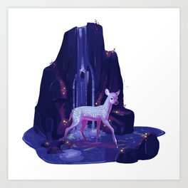 Bioluminescent Art Print