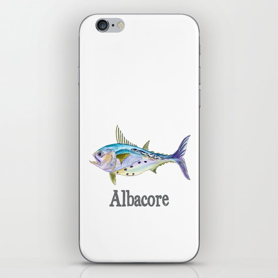 A is for Albacore iPhone Skin