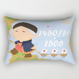 Columbus (Cristóbal Colón) Rectangular Pillow