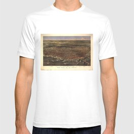 The city of St. Louis by Parsons & Atwater (1874) T-shirt