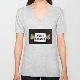World Changer Unisex V-Neck