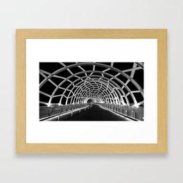 Webb Bridge Framed Art Print