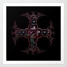 Symbolic Celtic Cross Art Print