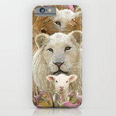 Lions led by a lamb iPhone 6s Slim Case