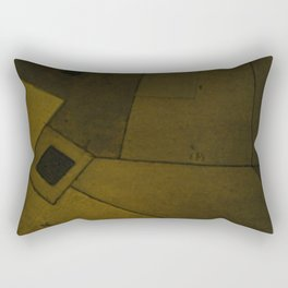 The over-worked roads of HK Rectangular Pillow