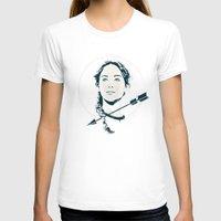katniss T-shirts featuring Katniss Stencil by Arne AKA Ratscape
