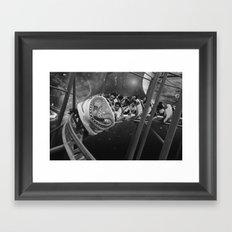 Roller Saigon Framed Art Print