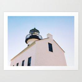 Light the Lighthouse Art Print