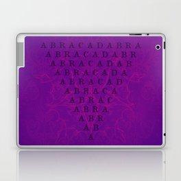 Abracadabra Reversed Pyramid in Violets Laptop & iPad Skin