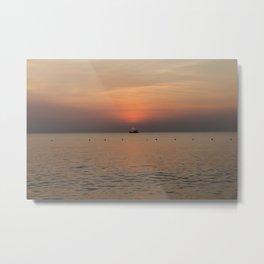 Vietnam. Sunset. Metal Print