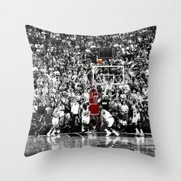MichaelJordan Iconic Basketball Sports Throw Pillow