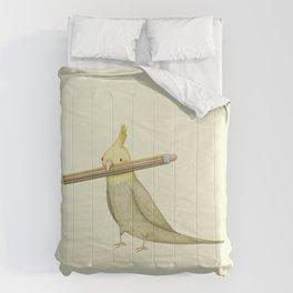 Cockatiel & Pencil Comforters