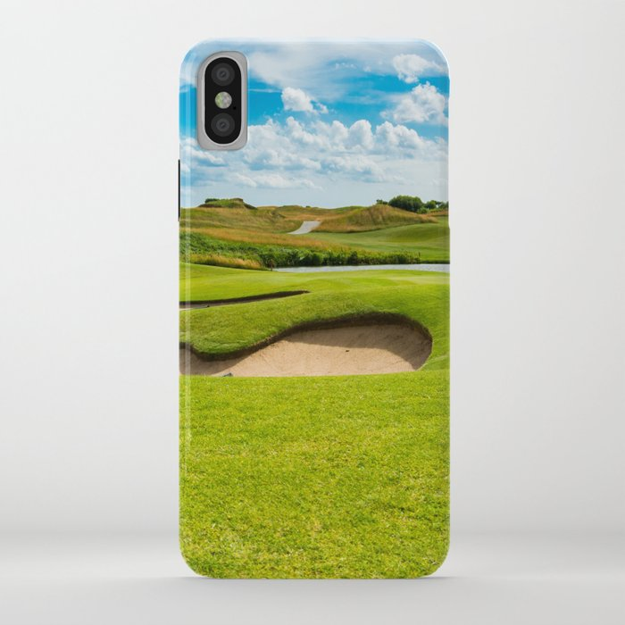Golf Course Iphone Case By Vladdurnev Society6