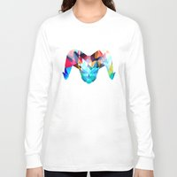 ram Long Sleeve T-shirts featuring Ram by haroulita