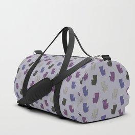 Seventies Armchair Pattern - Version 6 #society6 #seventies Duffle Bag