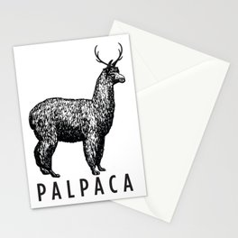 the palpaca Stationery Cards