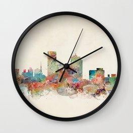 lexington city skyline Wall Clock