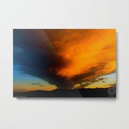 Estrella Sunset Metal Print
