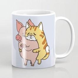 Friend Not Food Cat Coffee Mug
