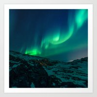 aurora Art Prints featuring Aurora by StayWild