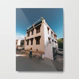 Buildings of Leh City Metal Print