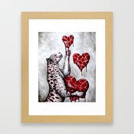 Love Collector Framed Art Print