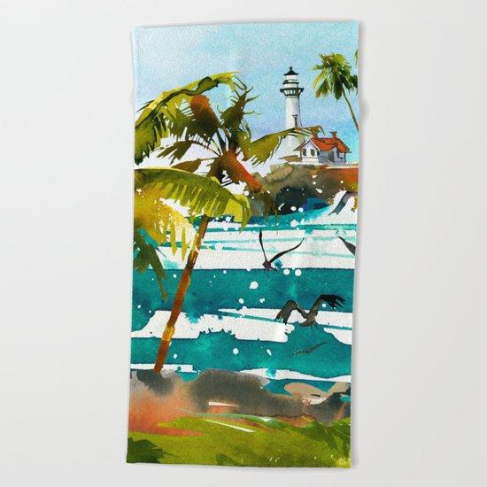 Seascape #8 Beach Towel
