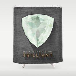 Trilliant Shower Curtain