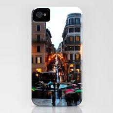 Rain in Rome in Colour Slim Case iPhone (4, 4s)