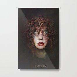 The fragile Queen Metal Print