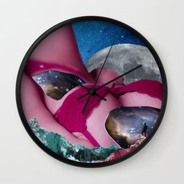 Soul Searching. Don't Just Be Eye Candy, Be Soul Food. Wall Clock